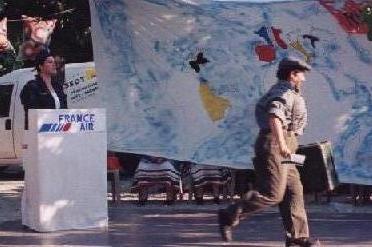 """Voyage d'antoine 2006 - Départ pour un tours du monde """"cherche fe"""